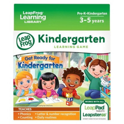 LeapFrog Get Ready for Kindergarten Learning Game Pack (for LeapPad