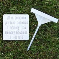 Drs. Foster & Smith Pet Memorials Marker w/basic message
