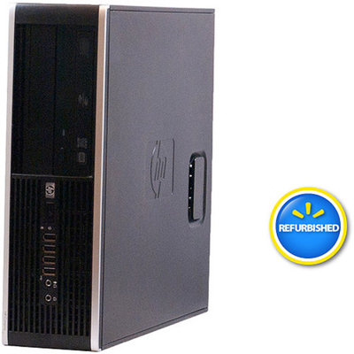 Compaq HP Off-Lease, Refurbished Black 6005 Pro Desktop PC with Athlon II X2 Processor, 4GB Memory, 160GB Hard Drive and Windows 7 Home Premium (Monitor Not Included)