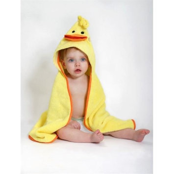 Zoocchini 11201 Puddles the Duck Hooded Towel - 30 x 30 in.