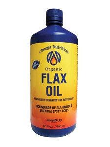 Omega Nutrition Flax Seed Oil 32 oz