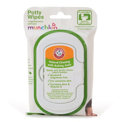 Arm & Hammer by Munchkin Potty Wipes
