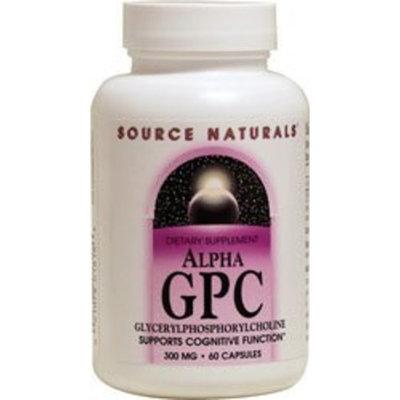 Source Naturals Alpha GPC 300mg 60 caps