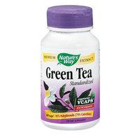 Nature's Way Green Tea Standardized Dietary Supplement Vegetarian Vcaps