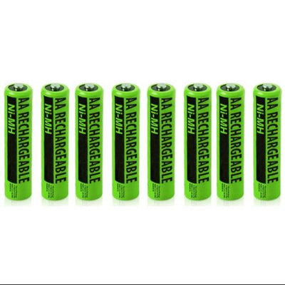 NiMh AA Batteries 8-Pack for Uniden NiMh AA Batteries 2-Pack for Uniden Phones