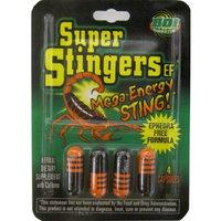 Super Stingers Mega Energy Sting Ef 24 of 4ct Blister Cards