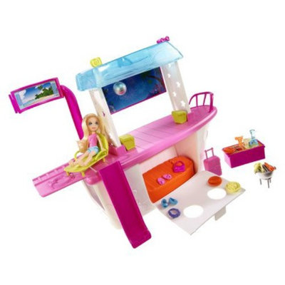 Polly Pocket Day/Night Party Boat Adventure Play Set
