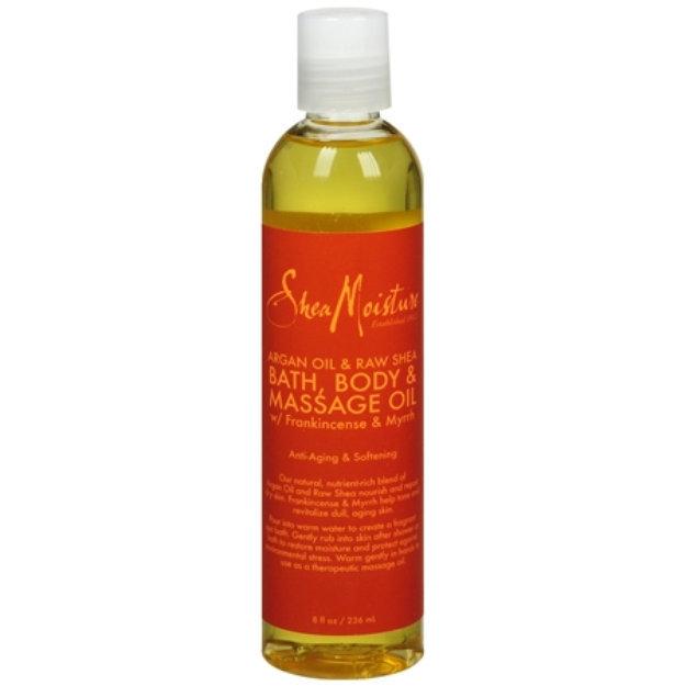 SheaMoisture Argan Oil & Raw Shea Bath, Body & Massage Oil