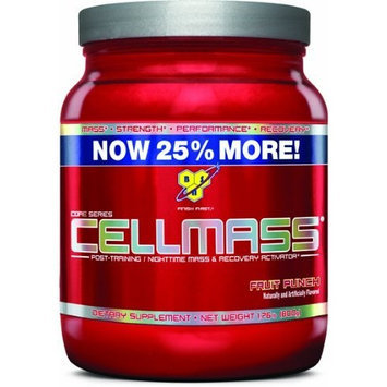 BSN CellMass Fruit Punch, 50 servings, 1.76 Pound