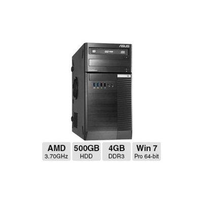 Asus BM1845 Desktop PC - AMD Quad-Core A10-6700 3.70GHz, 4GB DDR3 Memory, 500GB HDD, DVDRW, Windows 7 Professional 64-bi