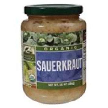 Woodstock Farms Woodstock Organic Sauerkraut 16 oz. (Pack of 12)