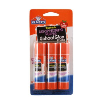 Elmers Glue Stick 3 pk