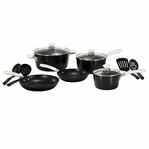 WearEver C963SC64 Modern Living 12-Piece Cookware Set