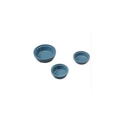 Ethical Pet Products Ethical Stoneware Dish - Old World Antique Cat Dish- Slate Blue 5 Inch
