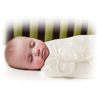 Summer Infant SwaddleMe Luxe Velboa Swaddling Blanket, Neutral, Small