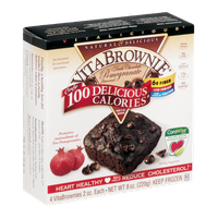 Vitalicious VitaBrownie Dark Chocolate Pomegranate - 4 CT