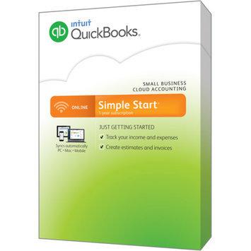 Quickbooks Intuit QuickBooks Online 2015 Simple Start (PC)