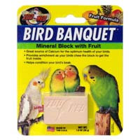 Zoo Med Labs Inc. Zoo Med Bird Banquet Fruit Mineral Treat SM