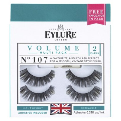 Eylure EYLURE NATURALITES EVENING WEAR ULTRA GLAM FALSE EYELASHES 2 PAIR -