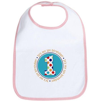 CafePress Newborn It's My Birthday Bib