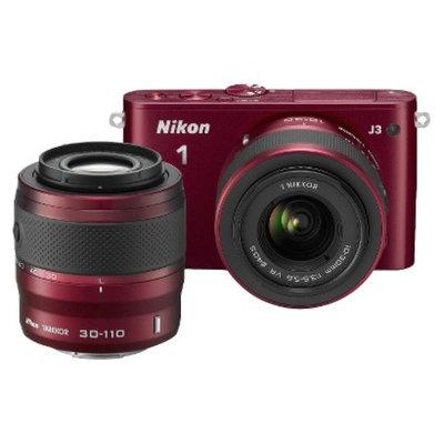Nikon 1 J3 14.2MP Digital Camera with 10-30mm and 30-110mm Lenses -