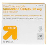up & up up&up Famotidine Acid Reducer 20 mg Tablets- 50 Count
