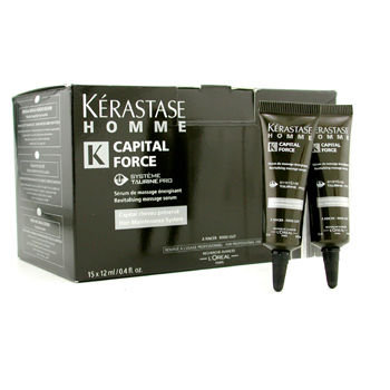 L'Oréal Paris Kerastase Homme Capital Force Hair Maintenance System Revitalizing Message Serum