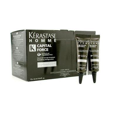L'Oréal Paris Kerastase Homme Capital Force Hair Maintenance System Revitalizing Message Serum