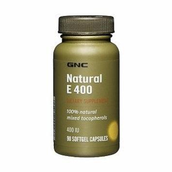GNC Natural E 400, 100% Natural Mixed Tocopherols, Softgel Capsules, 90 ea