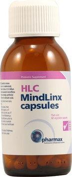Pharmax Probiotics HLC MindLinx Capsules 60 Vegetable Capsules