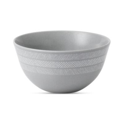 Vera Wang Wedgwood Dinnerware, Simplicity Gray Soup/Cereal Bowl