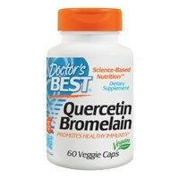 Doctor's Best Quercetin/ Bromelain, Veggie Capsules
