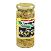 Cosmo's Real Home Style Eggplant In Oil