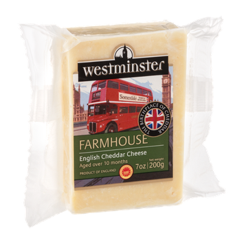 Westminster English Cheddar Cheese Farmhouse