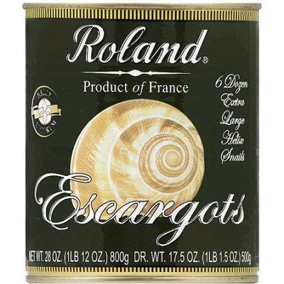 Roland Escargots Fancy Extra Large Helix Snails, 28 oz, (Pack of 12)