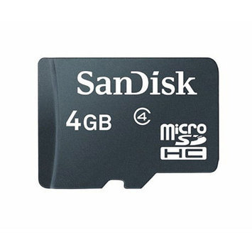 SanDisk microSDHC Memory Card - 4GB