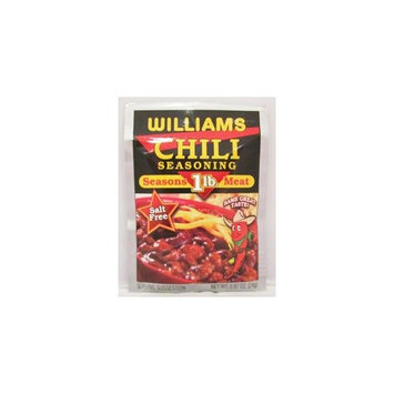 Williams CHILI Seasoning - for 1 Pound of Meat - 12 (TWELVE) .87 oz packets