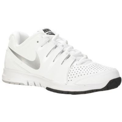 Nike Performance VAPOR COURT Outdoor tennis shoes white/black/metallic silver