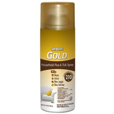 Sergeant's Pet Sergeant's 12-Ounce Gold Household Flea and Tick Spray