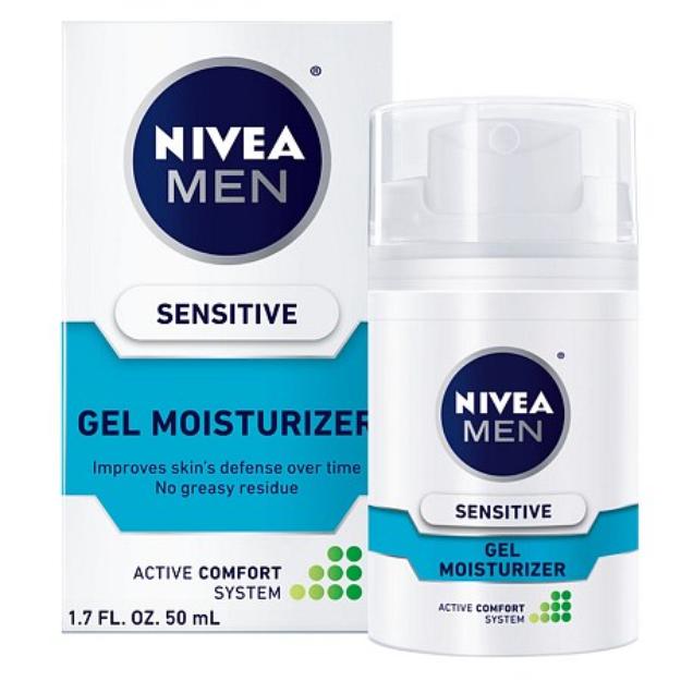 NIVEA for Men Sensitive Gel Moisturizer