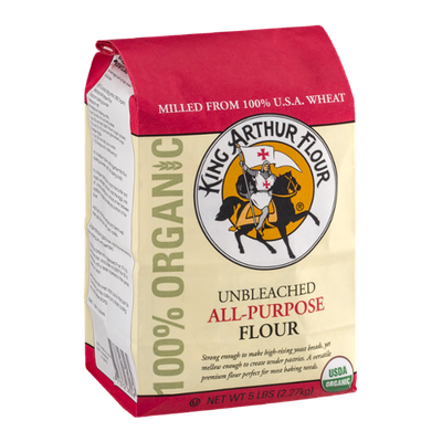 King Arthur Flour 100% Organic Unbleached All-Purpose Flour