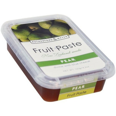 Rutherford & Meyer Rutherford and Meyer Fruit Paste, Pear, 4.2-Ounce Containers (Pack of 4)
