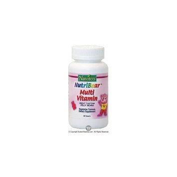 Navitco. Kosher NutriBear Multi Vitamin Great Tasting Jellies - 60 Bears