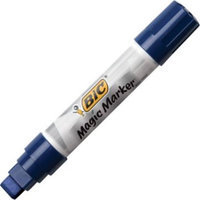 Bic Corporation MWXP11BE Magic Marker Brand Window Markers Jumbo Chisel Blue
