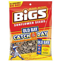 Thanasi Bigs Old Bay Catch of the Day Seasoned Sunflower Seeds, 5.35 Ounce -- 12 per case.