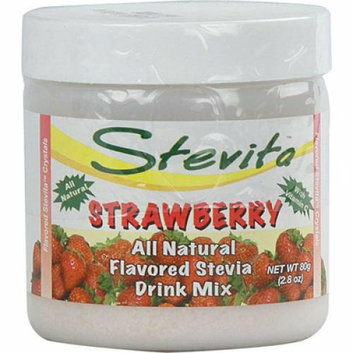 Stevita Flavored Stevia Drink Mix Strawberry 2.8 oz