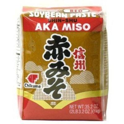 Shirakiku Miso Aka (red) Soy Bean Paste, 35.2-Ounce Bags (Pack of 2)
