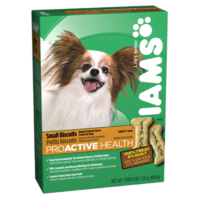 Iams ProActive Health Adult Dog Small Biscuits 24 Oz