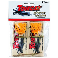 Motomco Tomcat Wooden Mouse Traps, 2-Pack (Not Sold in AK)