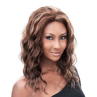 IT'S A WIG Human Remi Lace Front Wig JEWELRY - Color#1 - Jet Black